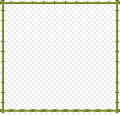Bamboo Decorative arts   Green bamboo border png download   3331 ...