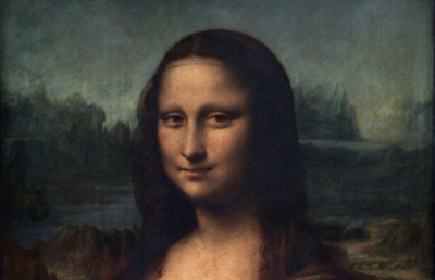 Naked Mona Lisa By Da Vinci,