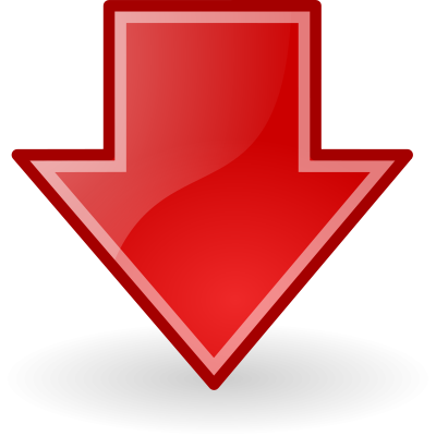 Down Arrow PNG Transparent