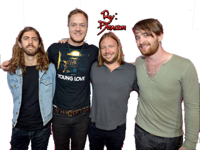 Imagine Dragons PNG Transparent Image