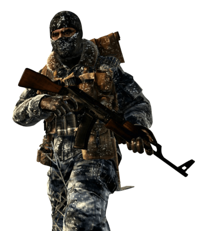 Counter Strike Soldier Transparent Background