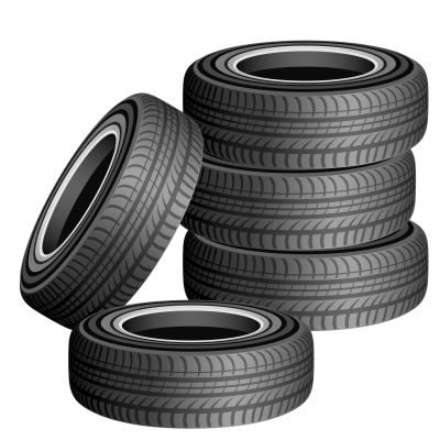 Car Tyre Transparent Images PNG