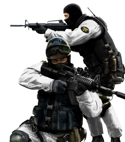 Counter Strike Soldier PNG Image