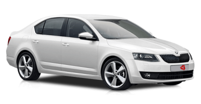 White Skoda Transparent PNG