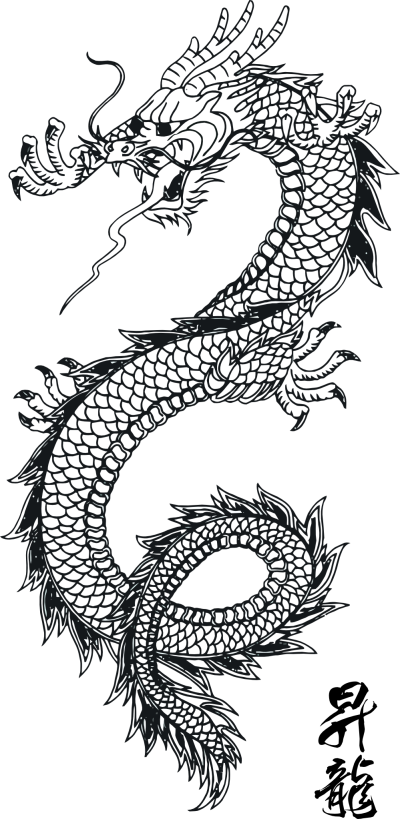 Dragon Tattoos Png Clipart