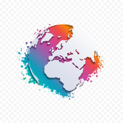 Abstract World Map Free Clipart HD