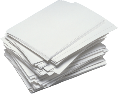 Paper Sheet PNG Transparent Background