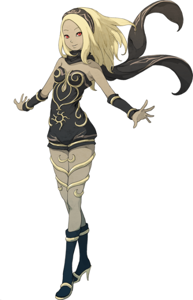Gravity Rush Transparent