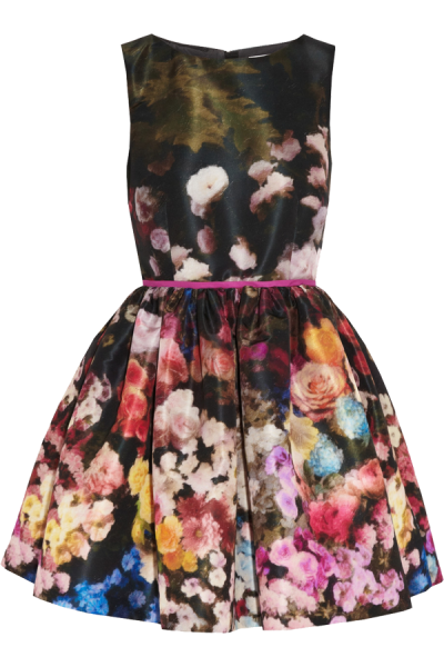 Floral Dress Transparent