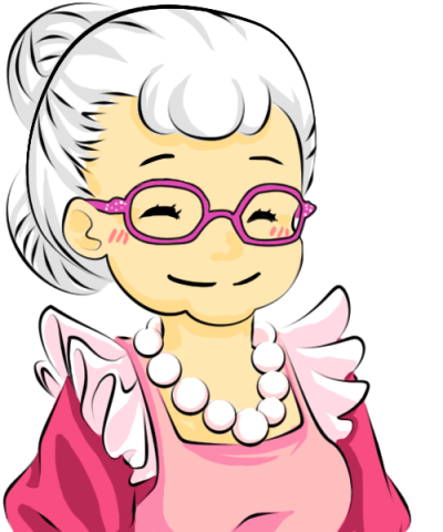 Grandmother PNG Download Free