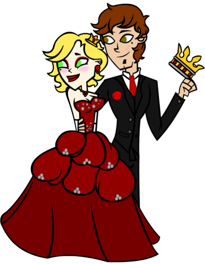 Prom King and Queen of Hearts