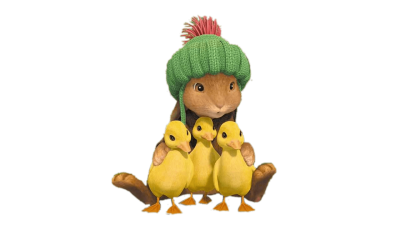 benjamin-bunny-and-three-ducklings