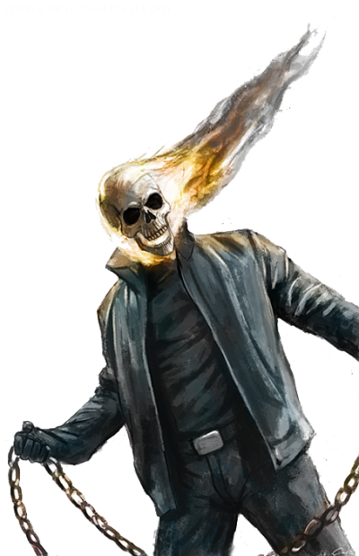 Ghost Rider Face Photos