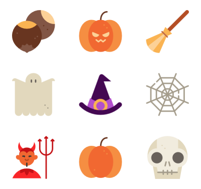 Halloween Elements Image Free Clipart HD