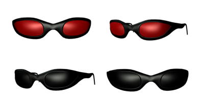 Cool Sunglass Transparent Background