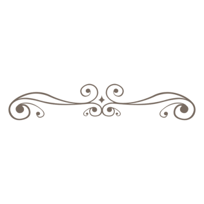 Curly ornament line decoration   Transparent PNG & SVG vector