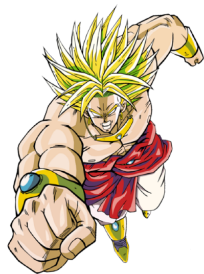 Dragon Ball Broly PNG Transparent