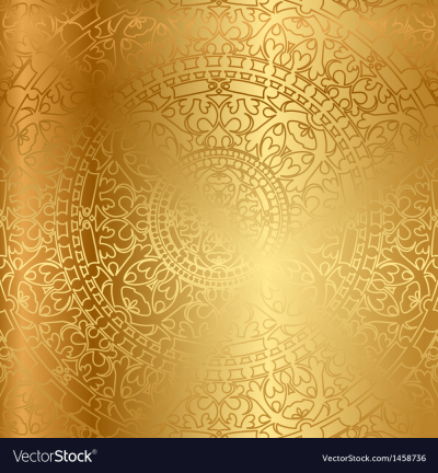 Gold background oriental decoration Royalty Free Vector