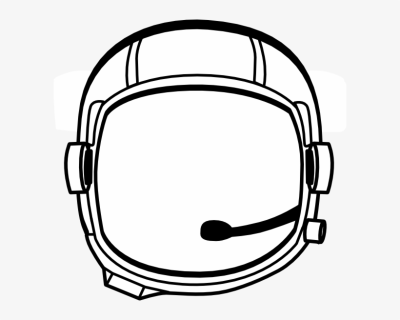 Helmet Clip Art At Clker   Astronaut Helmet Vector Png Transparent ...