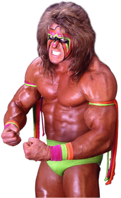 The Ultimate Warrior PNG File