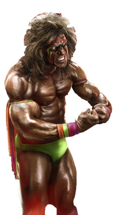 The Ultimate Warrior PNG Transparent Image