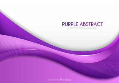 Purple Abstract Lines Transparent Background