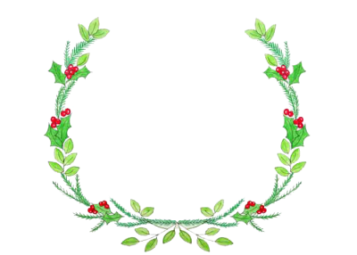 Christmas Wreath Transparent Image