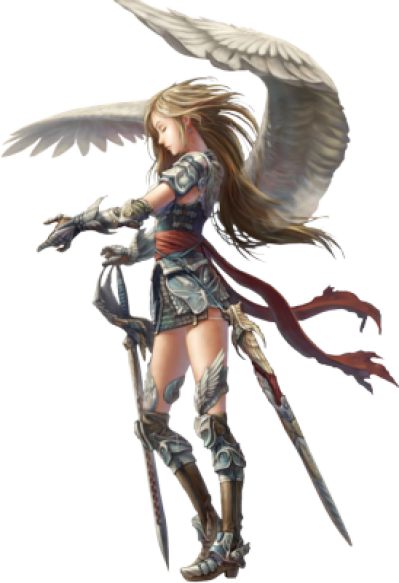 Angel Warrior Transparent