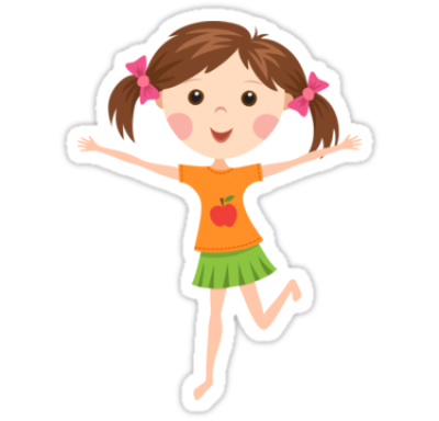 Cute Cartoon Girl PNG Picture