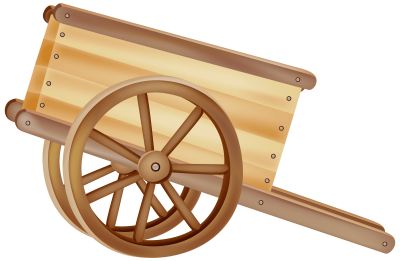 wooden-wheelbarrow