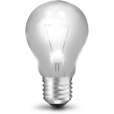 Bulb Off Transparent Image