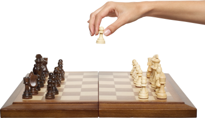 Chess-background-transparent-hand