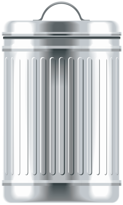 metal-trash-can
