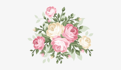 Bob Cut Mag A Mother Is - Vintage Flower Vector Png - Free ...