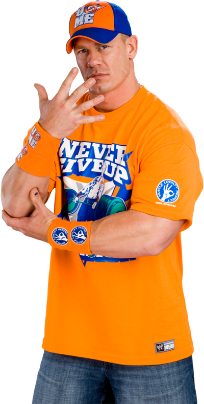 John Cena Transparent Background