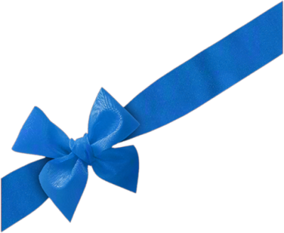 Blue-background-bow-transparent