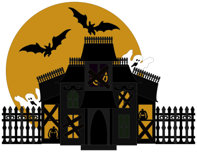 Halloween House Transparent Picture