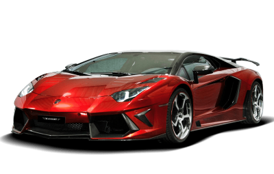 red-lamborghini