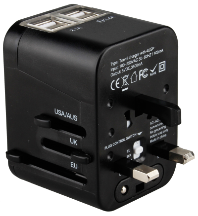 Universal Travel Adapter PNG Pic