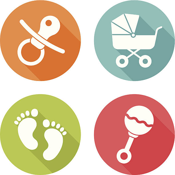 Best Baby Rattle Illustrations, Royalty-Free Vector Graphics ...