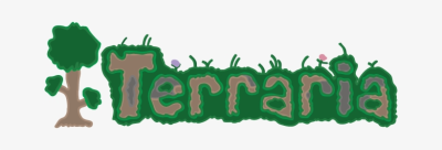 I Made Vector Art Of The Terraria Logo With Adobe Illustrator ...