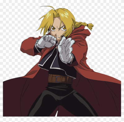 Edward Elric Png - Full Metal Alchemist Ds, Transparent Png ...
