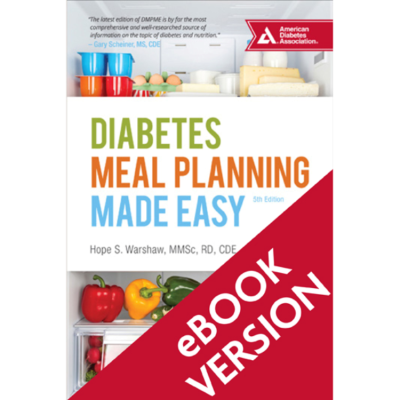 Diabetes Meal Planning Made Easy, 5th Edition (ePub)