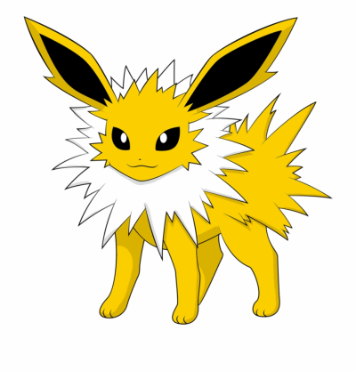 Pokemon Clipart Eeveelutions - Jolteon Flareon, Transparent Png ...