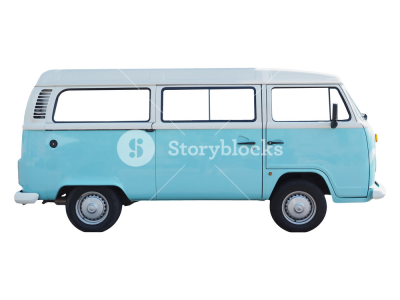 Vintage Volkswagen Type 2 campervan made in Germany since 1957 ...