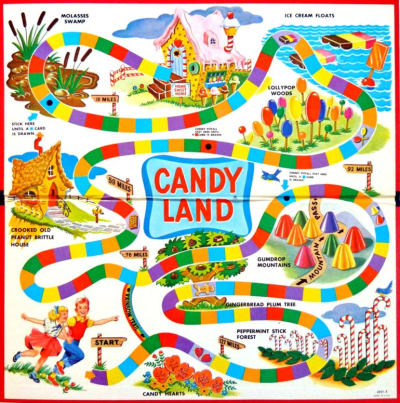 Look back at Candy Land, the vintage board game that made millions ...