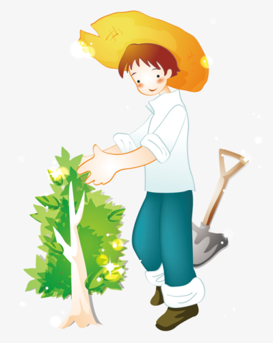 Planting Of Boys, Boy, Plant, Trees PNG and Vector for Free Download