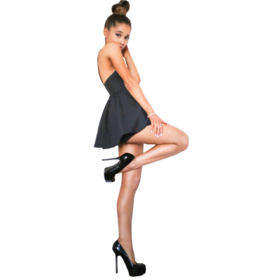 Ariana Grande Transparent Background