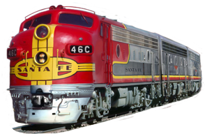 Train Transparent Background