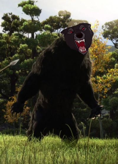 Image - The Bear as Mordu.png | The Parody Wiki | FANDOM powered ...